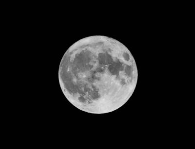 Самая большая и светлая Луна